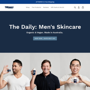 The Daily Men's Skincare