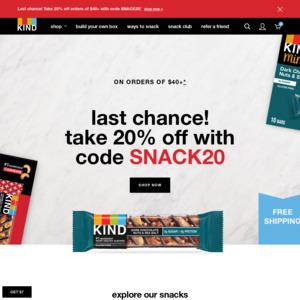 kindsnacks.com
