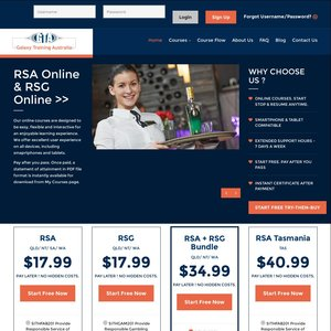 rsa online course only start free pay after you. Black Bedroom Furniture Sets. Home Design Ideas