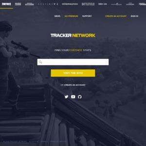 Win 1 of 4 Prizes of 7500 Fortnite VBucks from Tracker