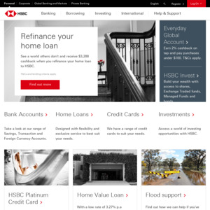 $100 Bonus for Opening a New HSBC Everyday Global Account