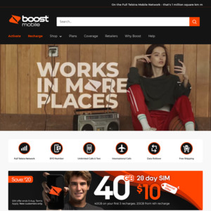 Boost Prepaid Mobile: Deals, Coupons and Vouchers - OzBargain