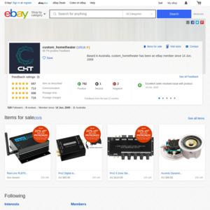 eBay Australia custom_hometheater