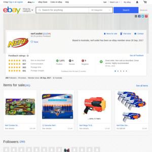 eBay Australia nerf.outlet
