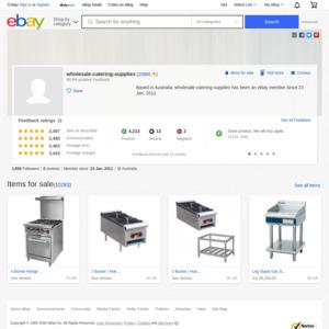 eBay Australia wholesale-catering-supplies