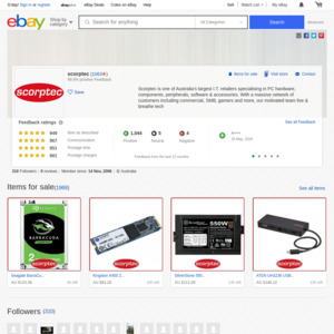 eBay Australia scorptec