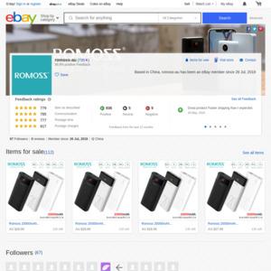 eBay Australia romoss-au