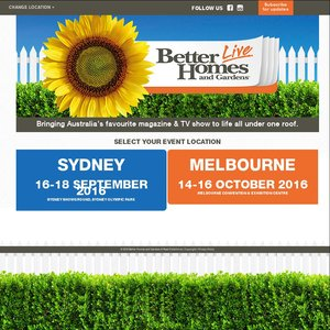 Better Home and Gardens Live