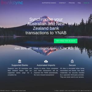 Sync Accounts to YNAB