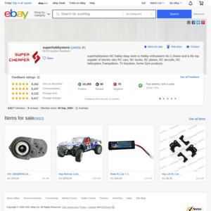 eBay Australia superhobbystore