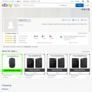 eBay Australia frugal-shop