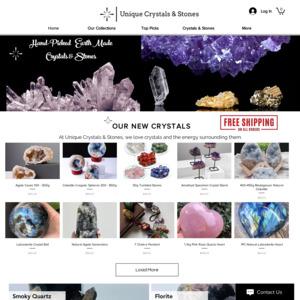 Unique Crystals & Stones