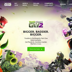 PC/XB1] Plants Vs  Zombies: Garden Warfare 2 Added to EA