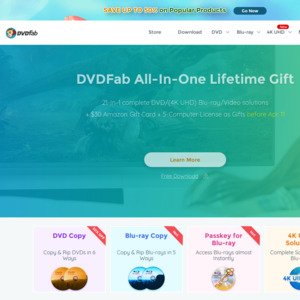 dvdfab all-in-one lifetime gift coupon
