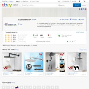 Watermark Kitchen Sink Mixer Tap WELS 6 STAR 4L/Min $68 (Was