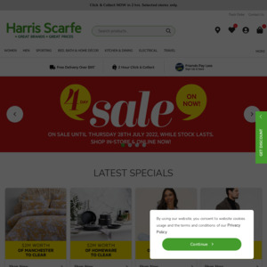 Harris Scarfe: Deals, Coupons and Vouchers - OzBargain