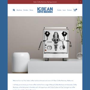 K Bean Coffee Machine