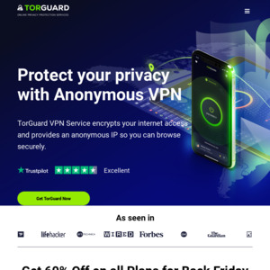 TorGuard VPN Sale: 50% off: (~AUD $40 53/Yr), (~AUD $6 74/M