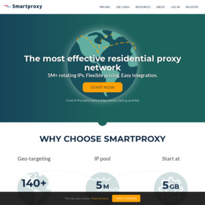 Smartproxy - 15% off Selected Plans  $75 USD/Month ($104 AUD/Month