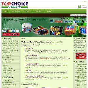 Top Choice Variety