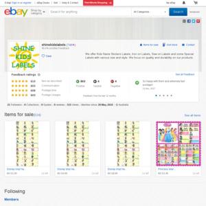 eBay Australia shinekidslabels