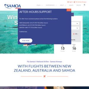 samoaairways.com