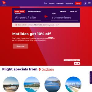 Virgin Australia: Deals, Coupons and Vouchers - OzBargain