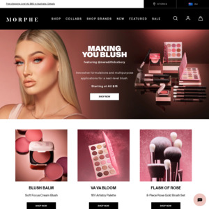 Morphe Com Deals Coupons And Vouchers Ozbargain Right at the moment, couponannie has 22 discounts overall regarding morphe, consisting of 1 discount code, 21 deal. morphe com deals coupons and vouchers