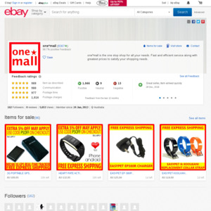 eBay Australia one*mall