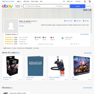 eBay Australia study_of_games