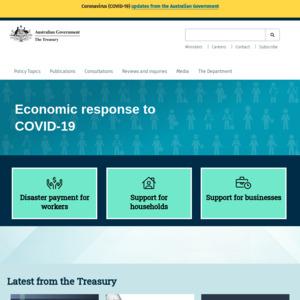The Treasury, Australian Government