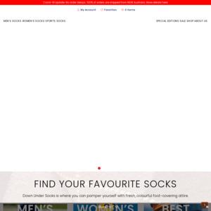Down Under Socks