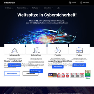 Bitdefender Total Security 2019 (5 Devices) | Free 6 Months