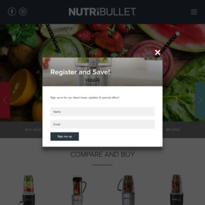 Nutribullet coupon code for website