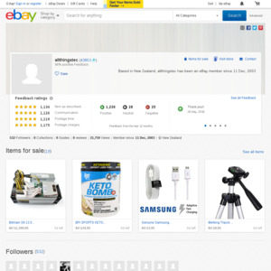 eBay Australia allthingstec