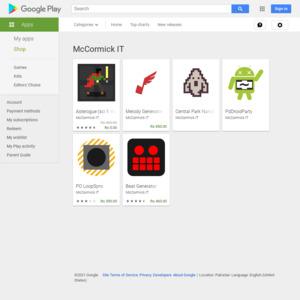 Google Play McCormick IT