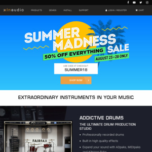 50% off Sale - All XLN Audio Products @ XLN Audio - OzBargain