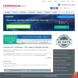 Comodo SSL Store