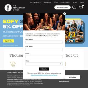 The Restaurant Choice