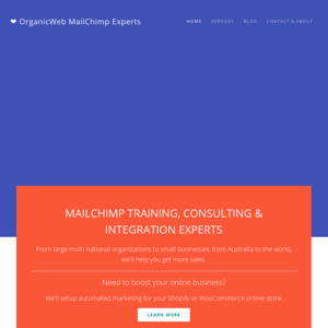 OrganicWeb MailChimp Experts