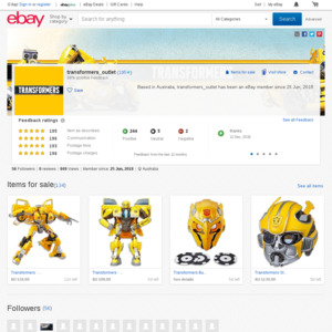 eBay Australia transformers_outlet