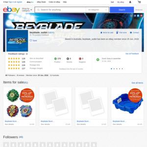 eBay Australia beyblade_outlet