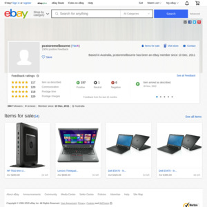 eBay Australia pcstoremelbourne
