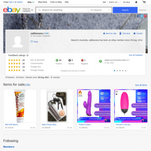 eBay Australia saltbanana