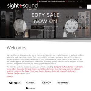 Sight and Sound Galleria