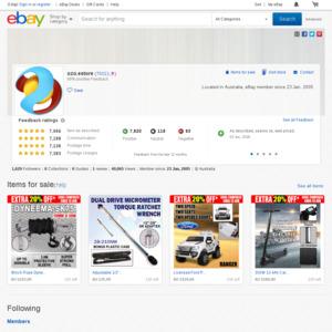 eBay Australia ozo.estore