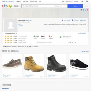eBay Australia allforshoe