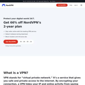 3 Year VPN Plan USD $107 55 (~ $150) + 75% Cashback via ShopBack