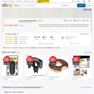 eBay Australia discountbrandsaustralia*