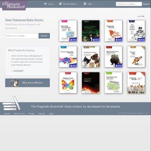 The Pragmatic Bookshelf: All eBooks, Screencasts, and Audio Books 40